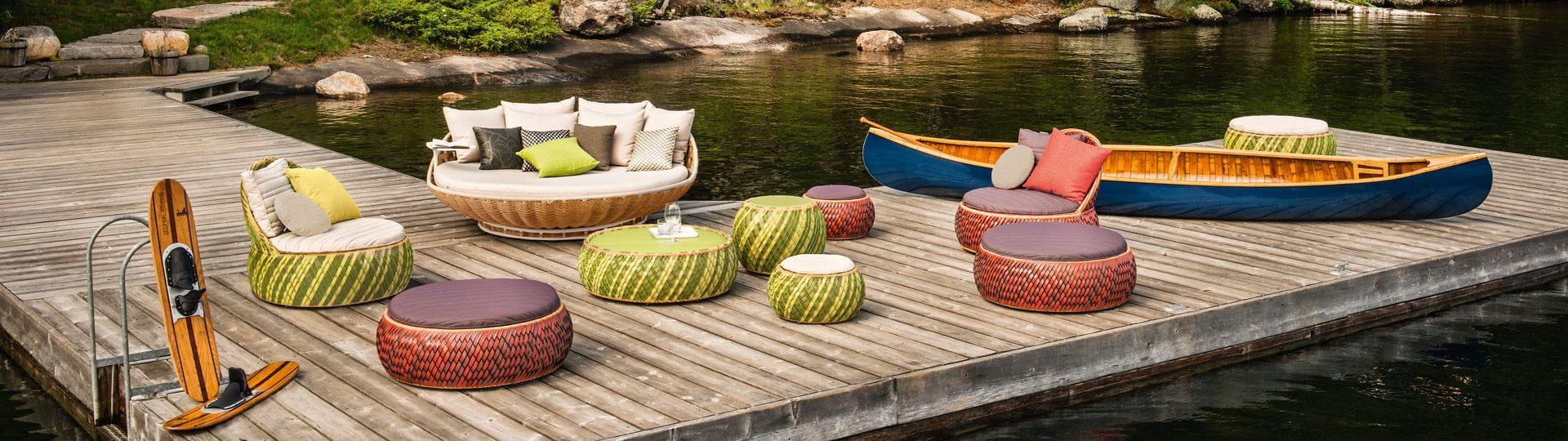 dedon outdoor furniture. Dedon Halfstage Contact Outdoor Furniture