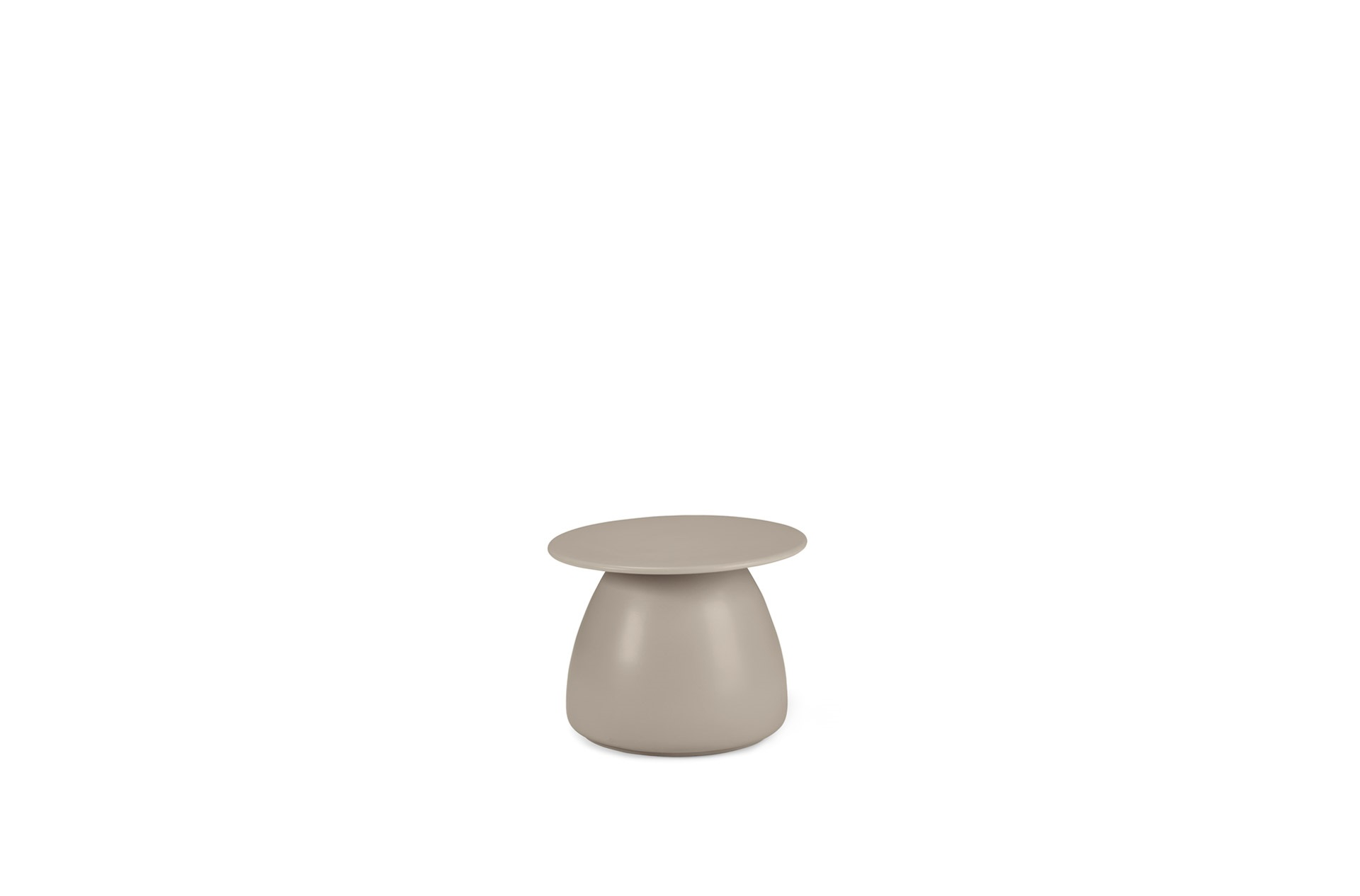 DEDON Porcini Side table ceramic 51 taupe