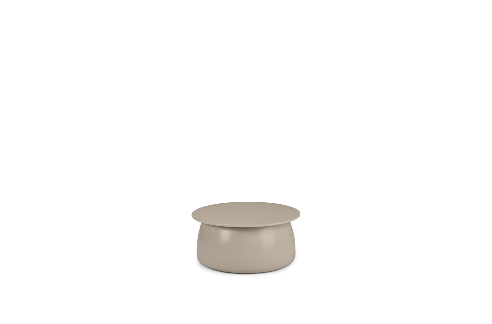 DEDON Porcini Side table ceramic 61 taupe