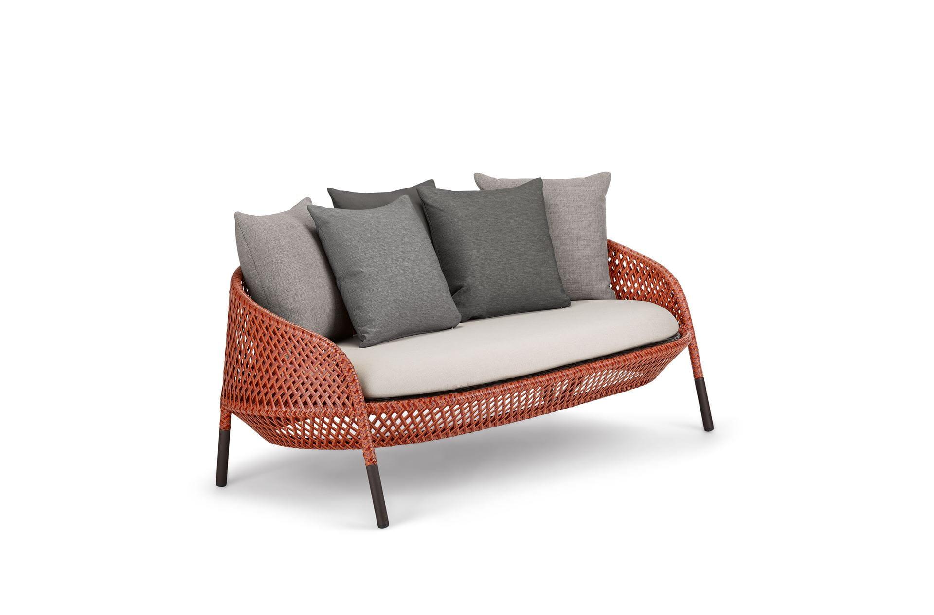 dedon ahnda 2 seater. Black Bedroom Furniture Sets. Home Design Ideas