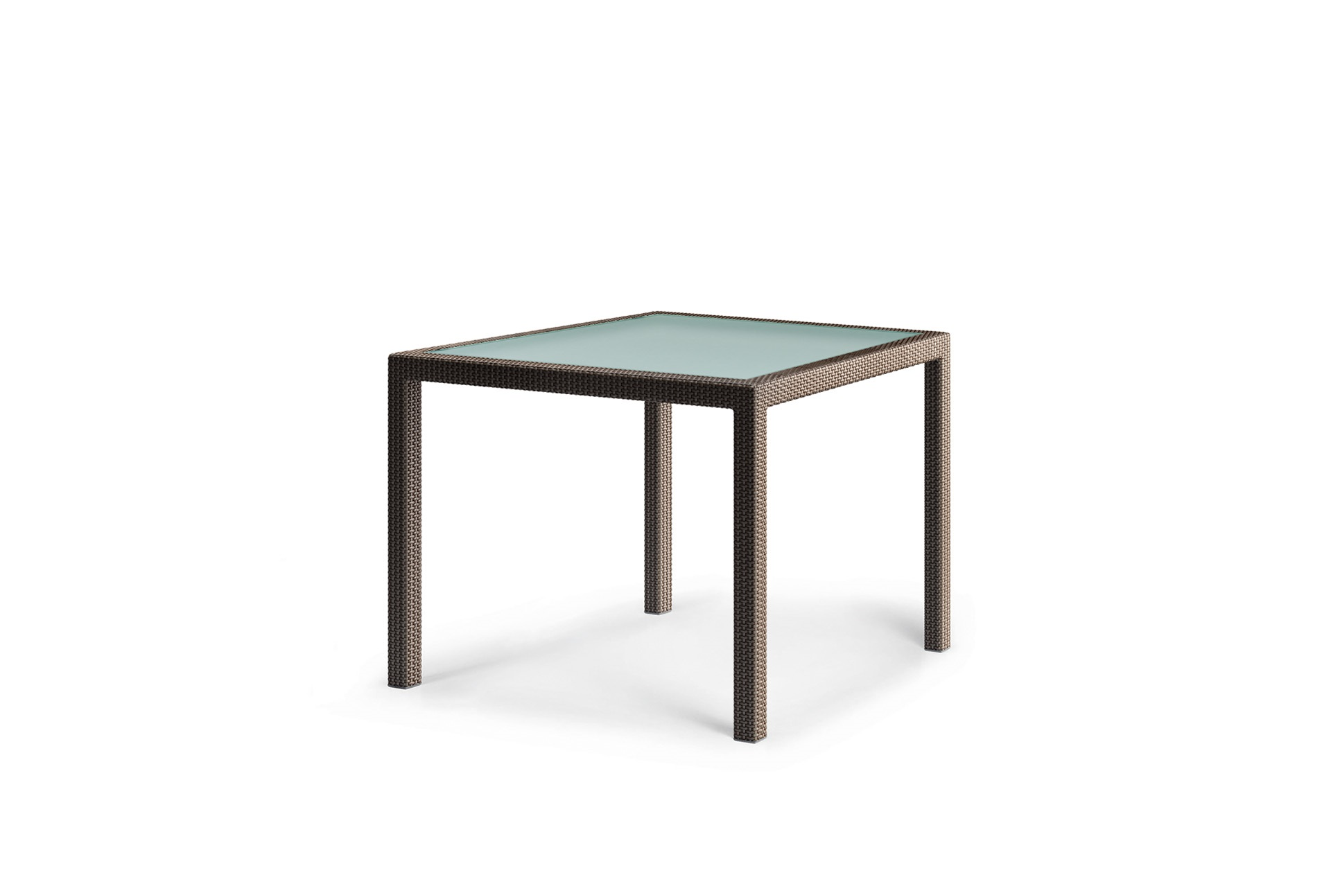 Dedon Barcelona Diningtable 100x100cm Bronze
