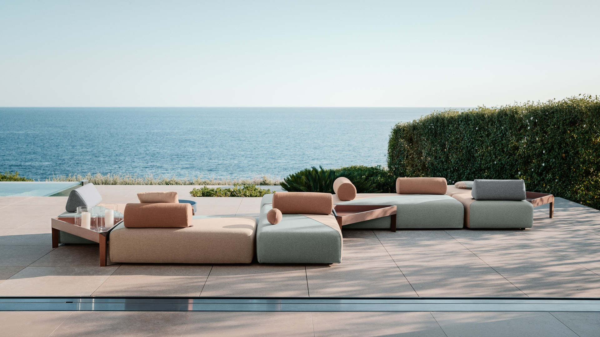 dedon brixx module m. Black Bedroom Furniture Sets. Home Design Ideas