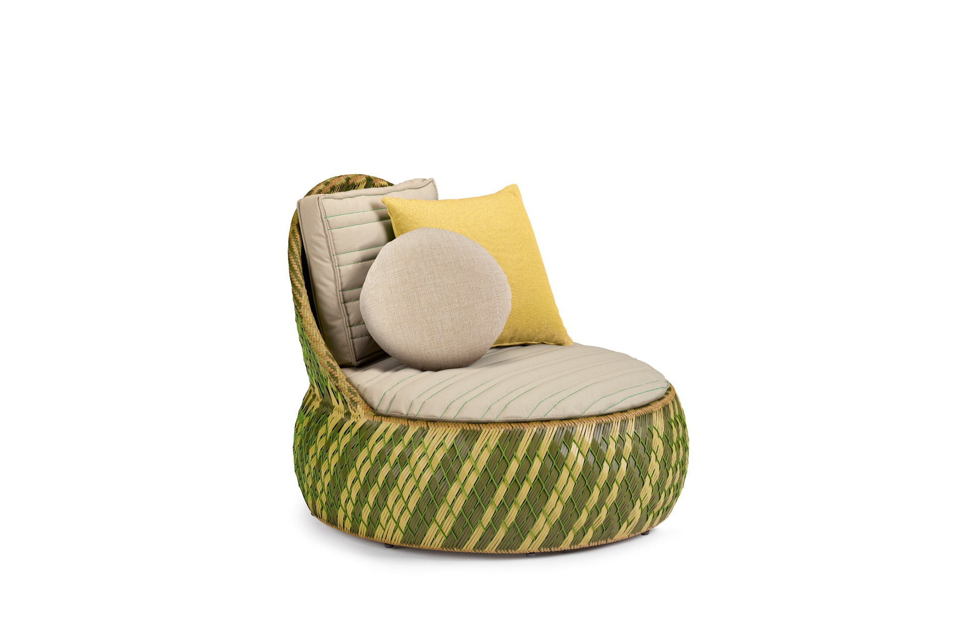 Dedon Dala Loungechair Grass