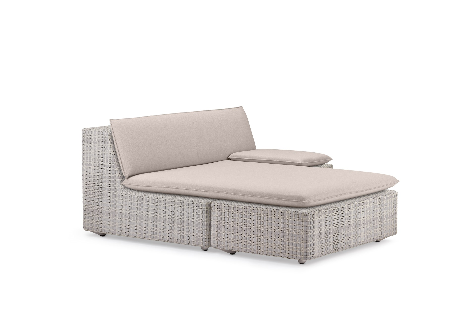 Dedon Lou Daybed left clay