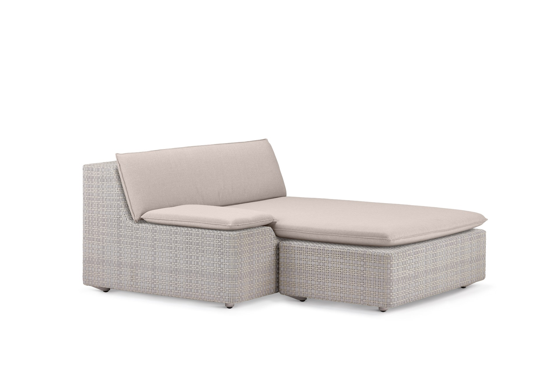 Dedon Lou Daybed right clay