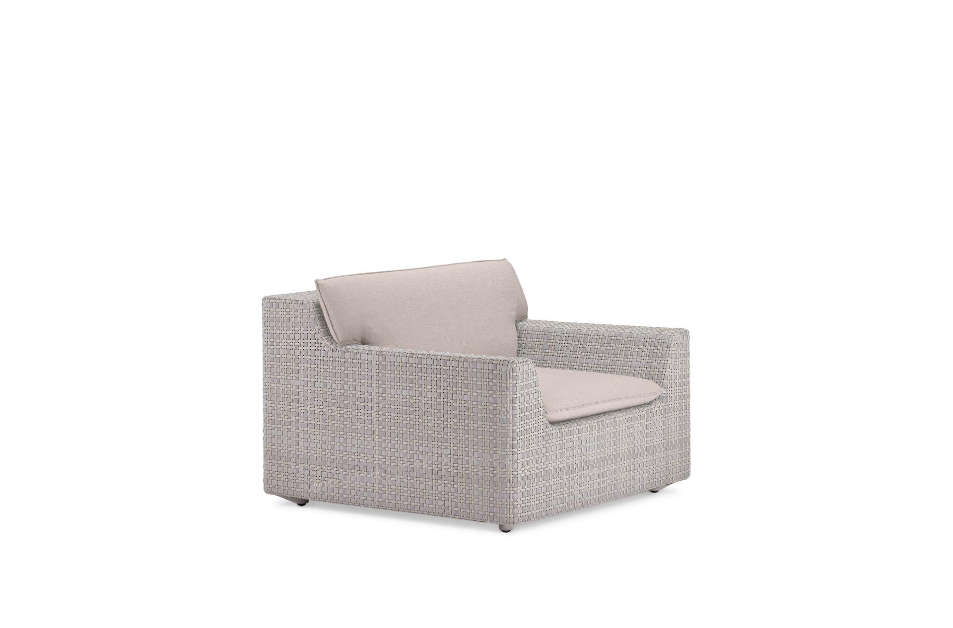 Dedon Lou Lounge Chair Clay
