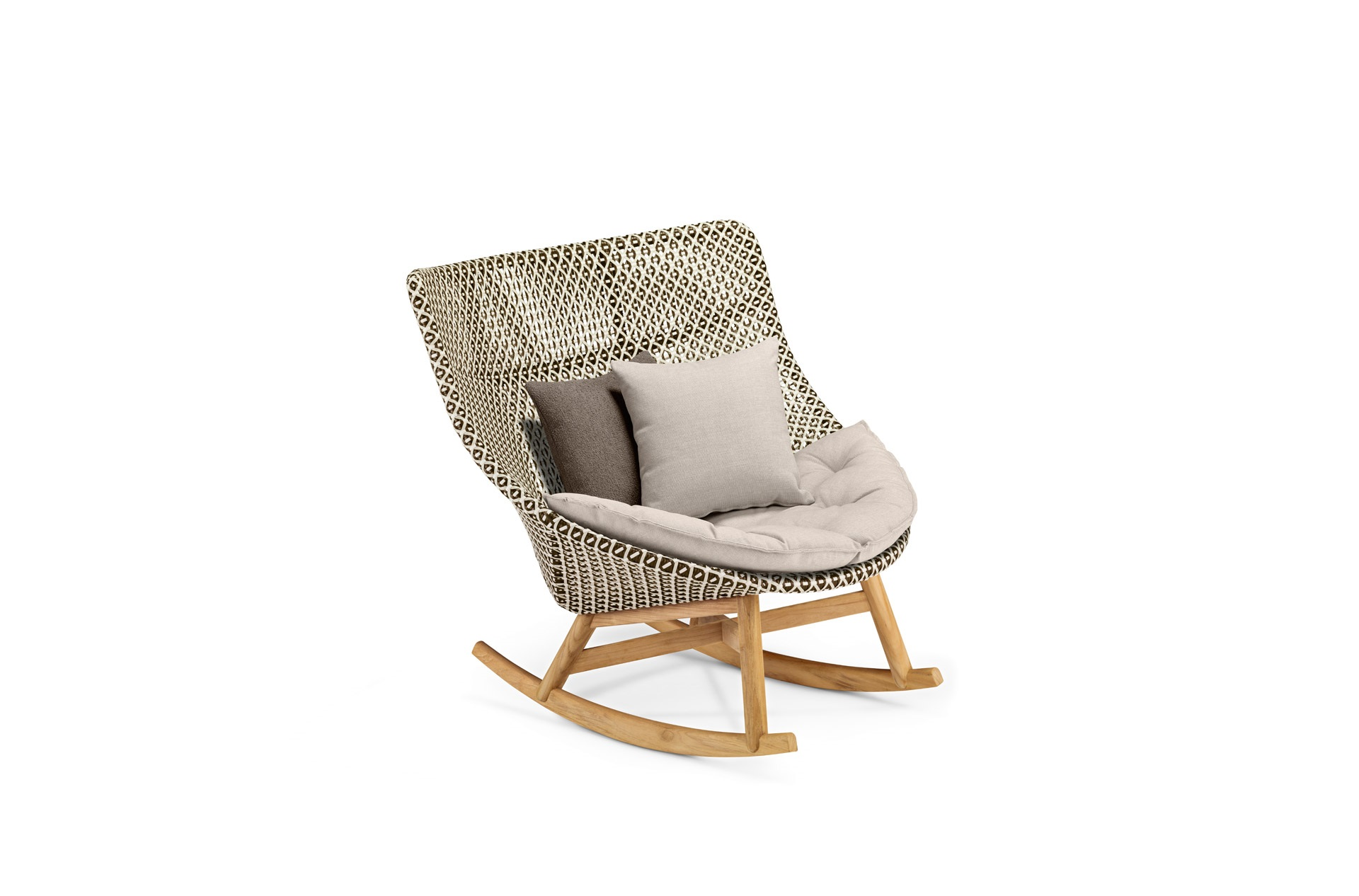 Mbrace collection dedon lounge chair wing chair rocking chair - Dedon Furniture Mbrace