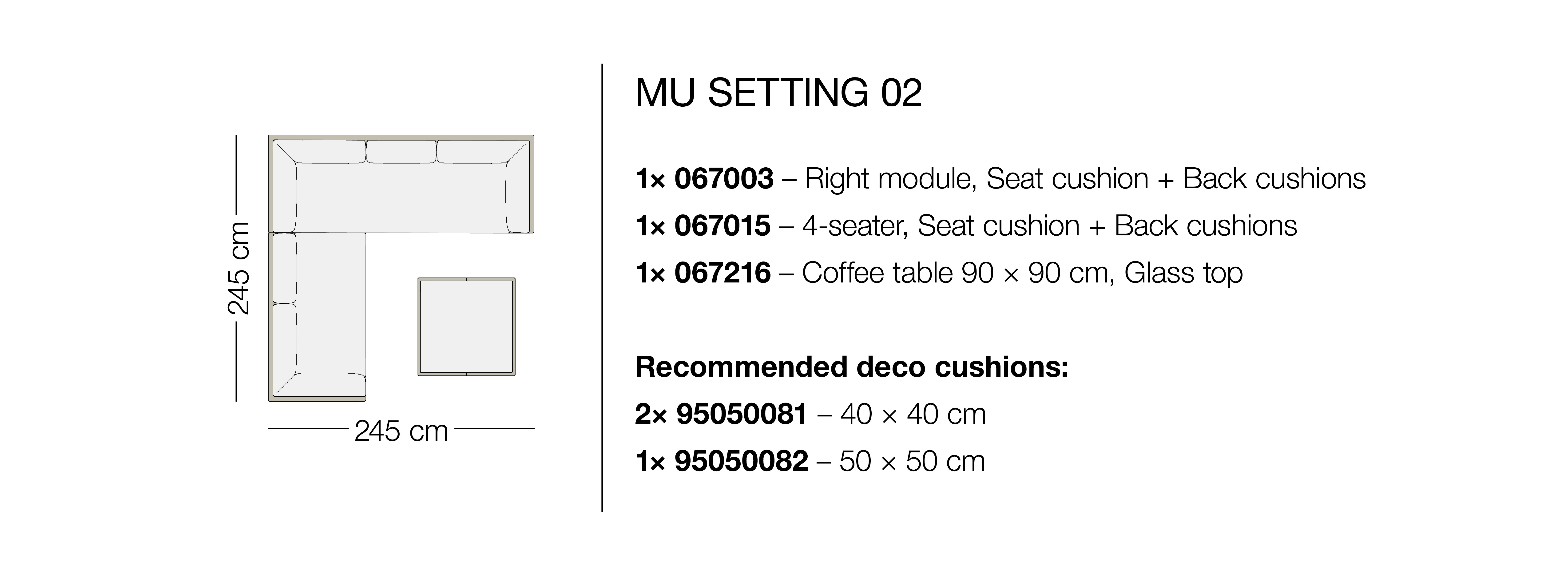 DEDON | Furniture | MU