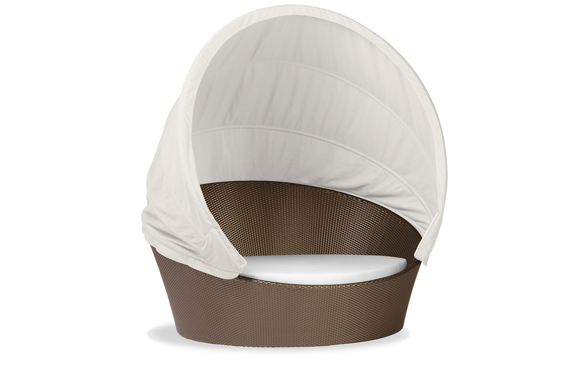 Dedon Orbit Bronze Canopy White