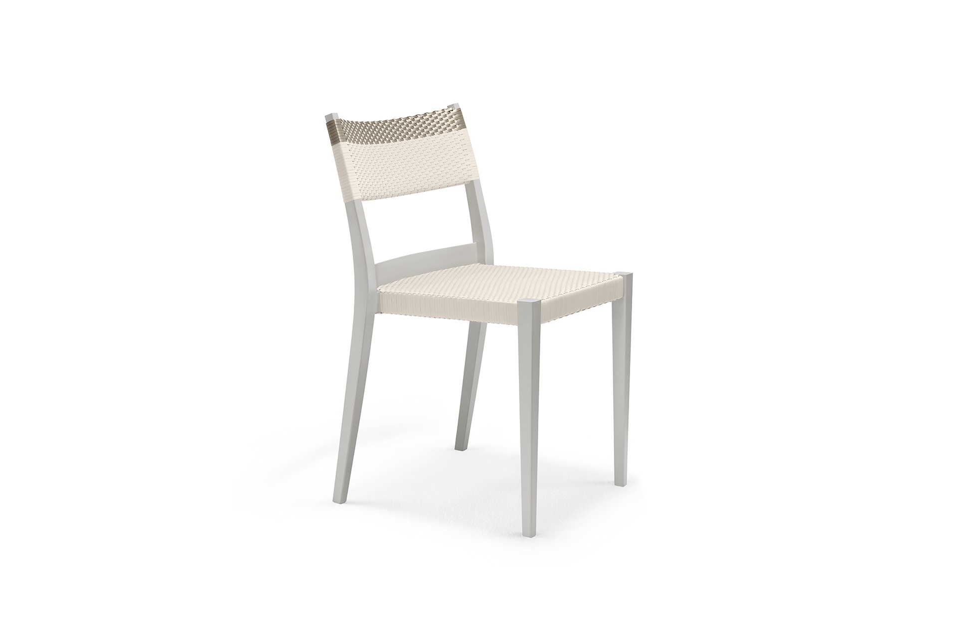 Dedon Play Sidechair Lightgray Chalkplatinum