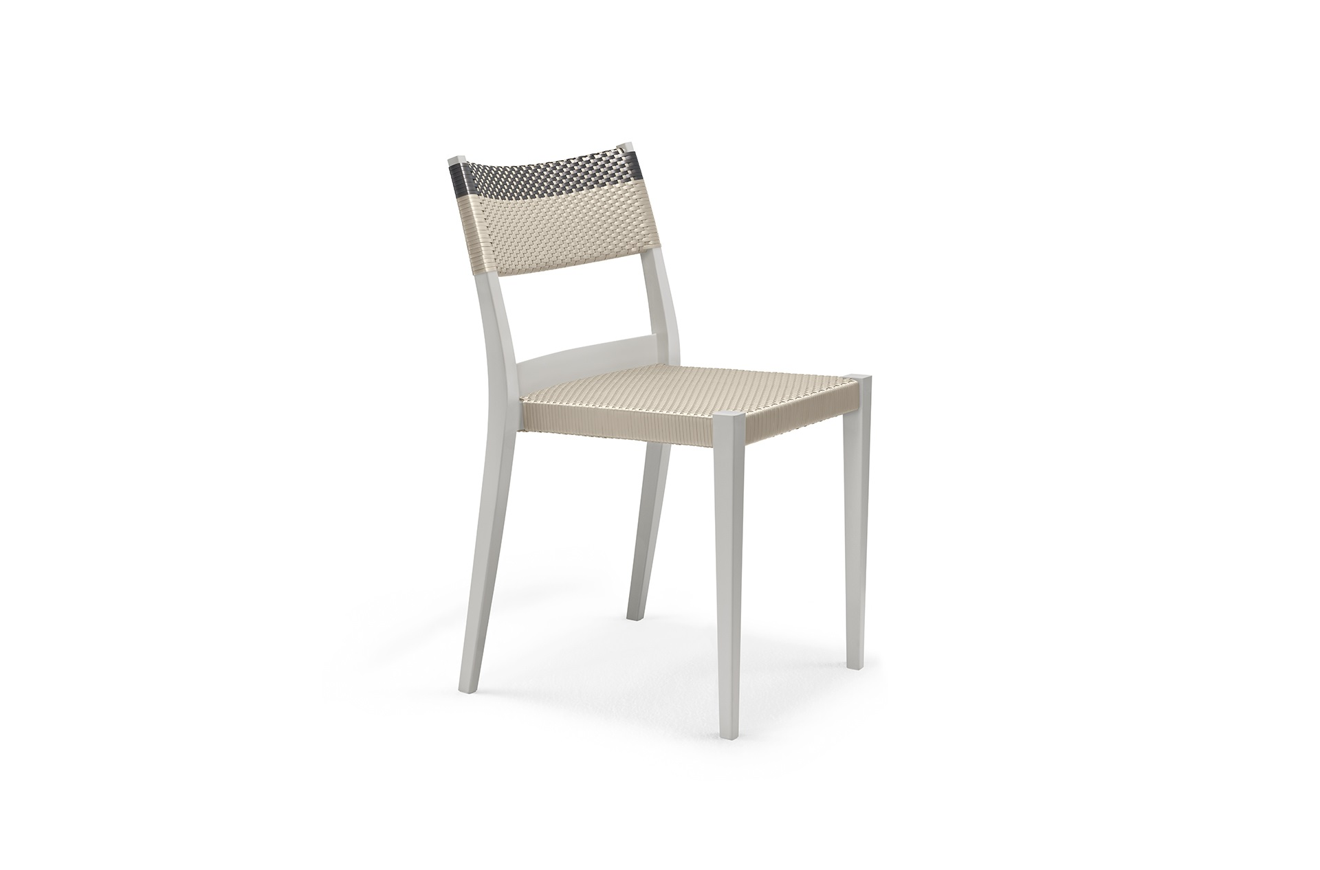 Dedon Play Sidechair Lightgray Platinumtitanium