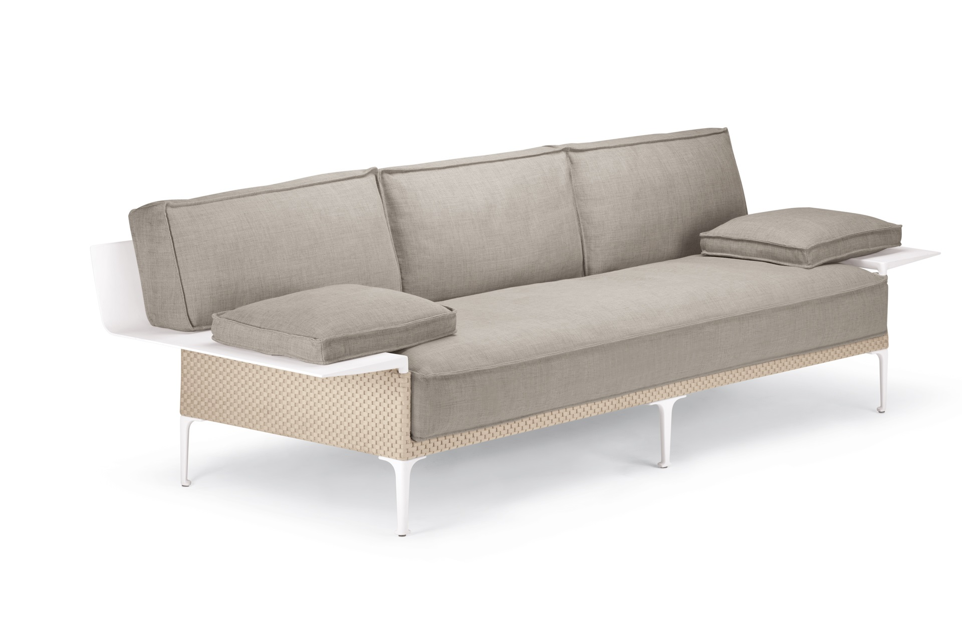 Dedon Rayn 3seater Right Leftarmrest Salina