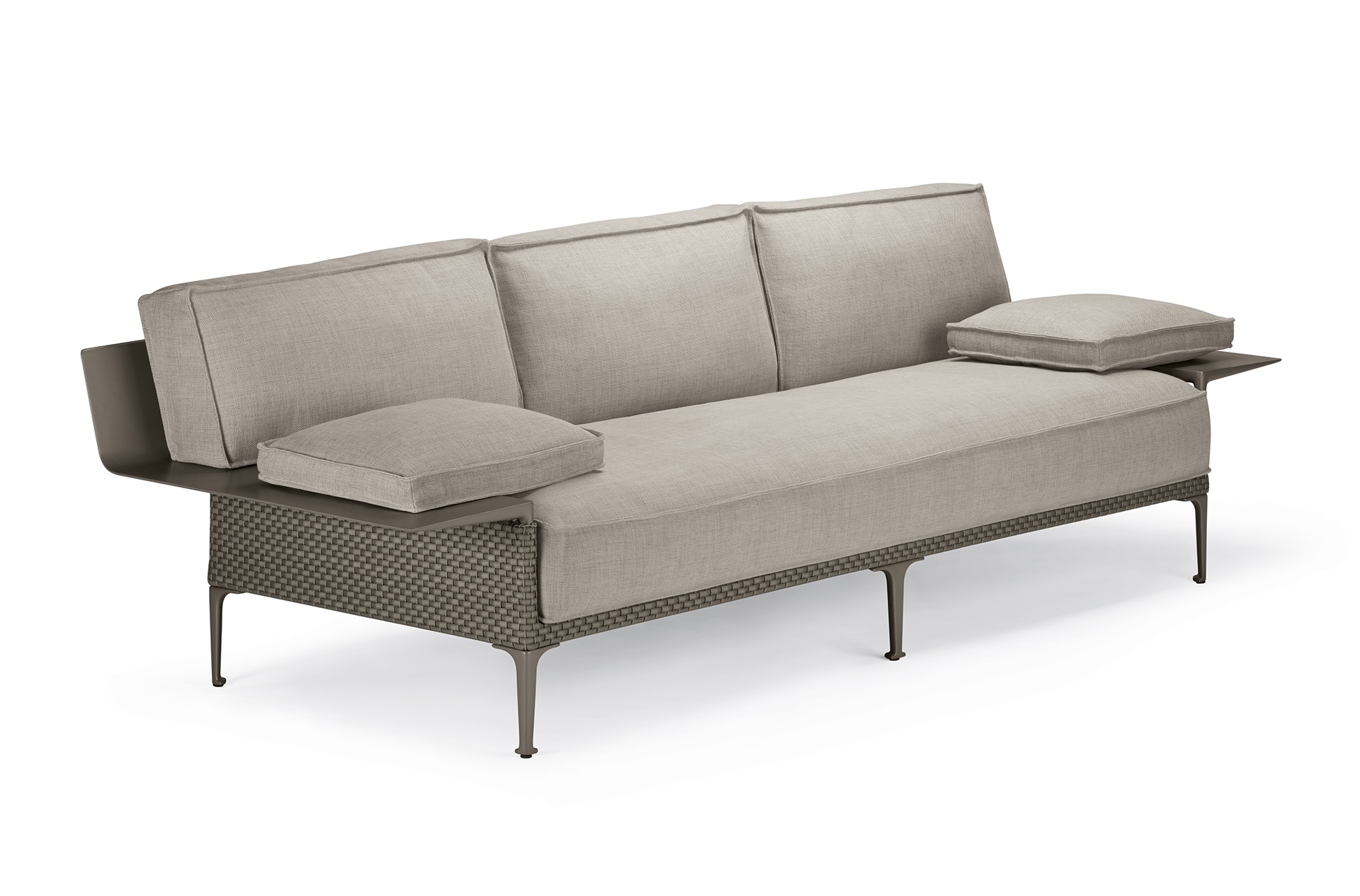 Dedon Rayn 3seater Right Leftarmrest Veneto