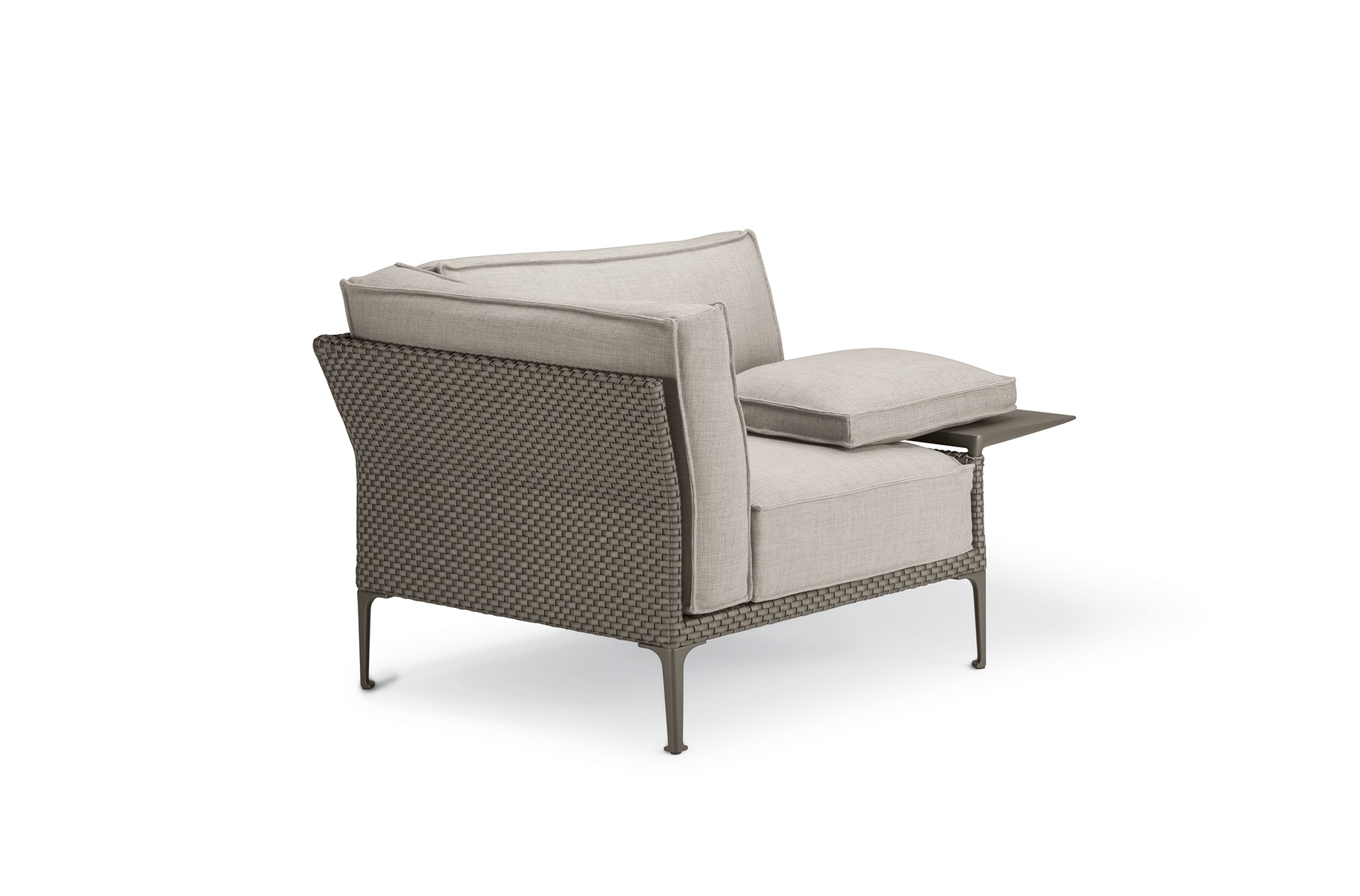 Dedon Rayn Loungechair Left Veneto