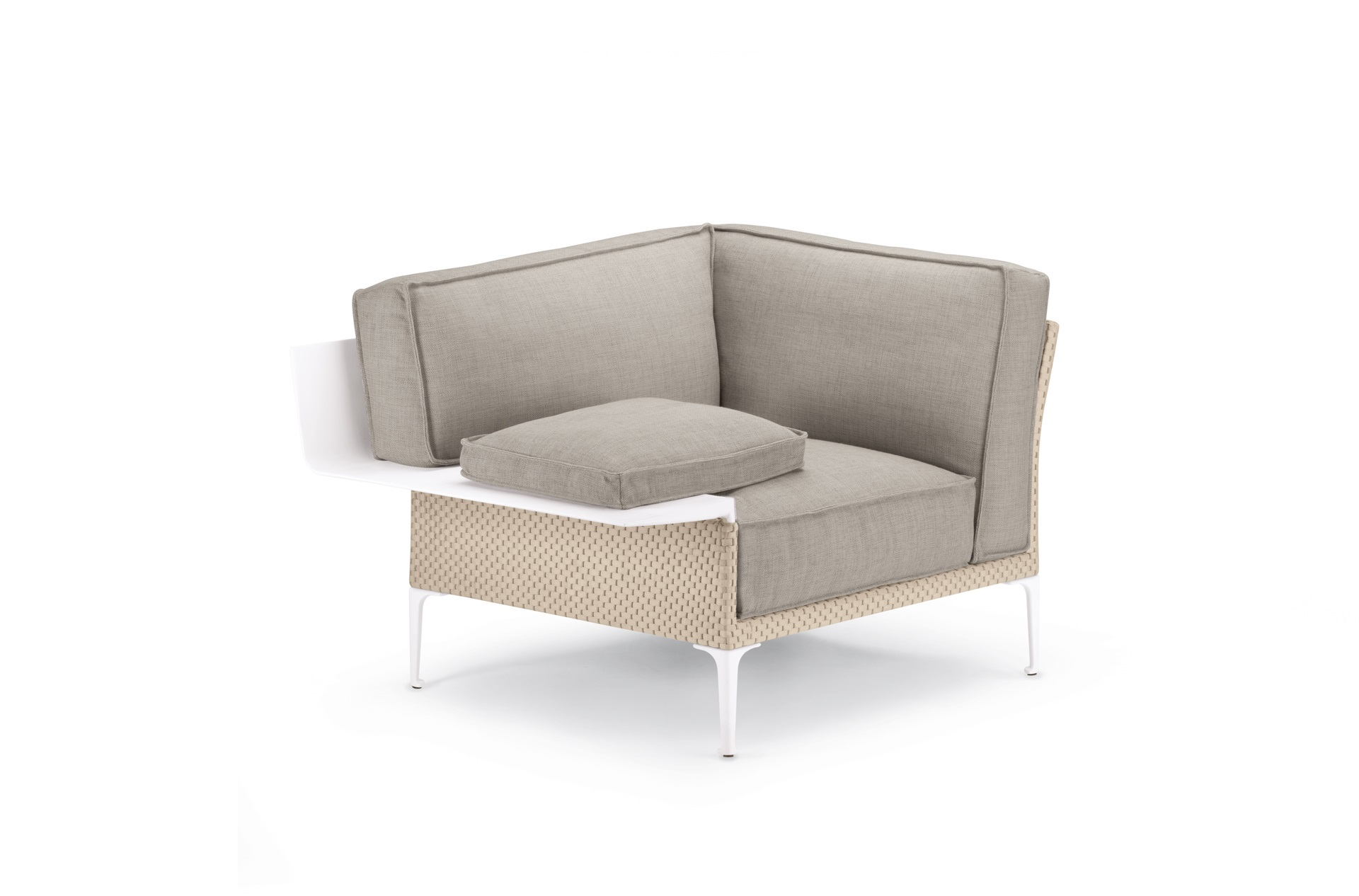 Dedon Rayn Loungechair Right Salina