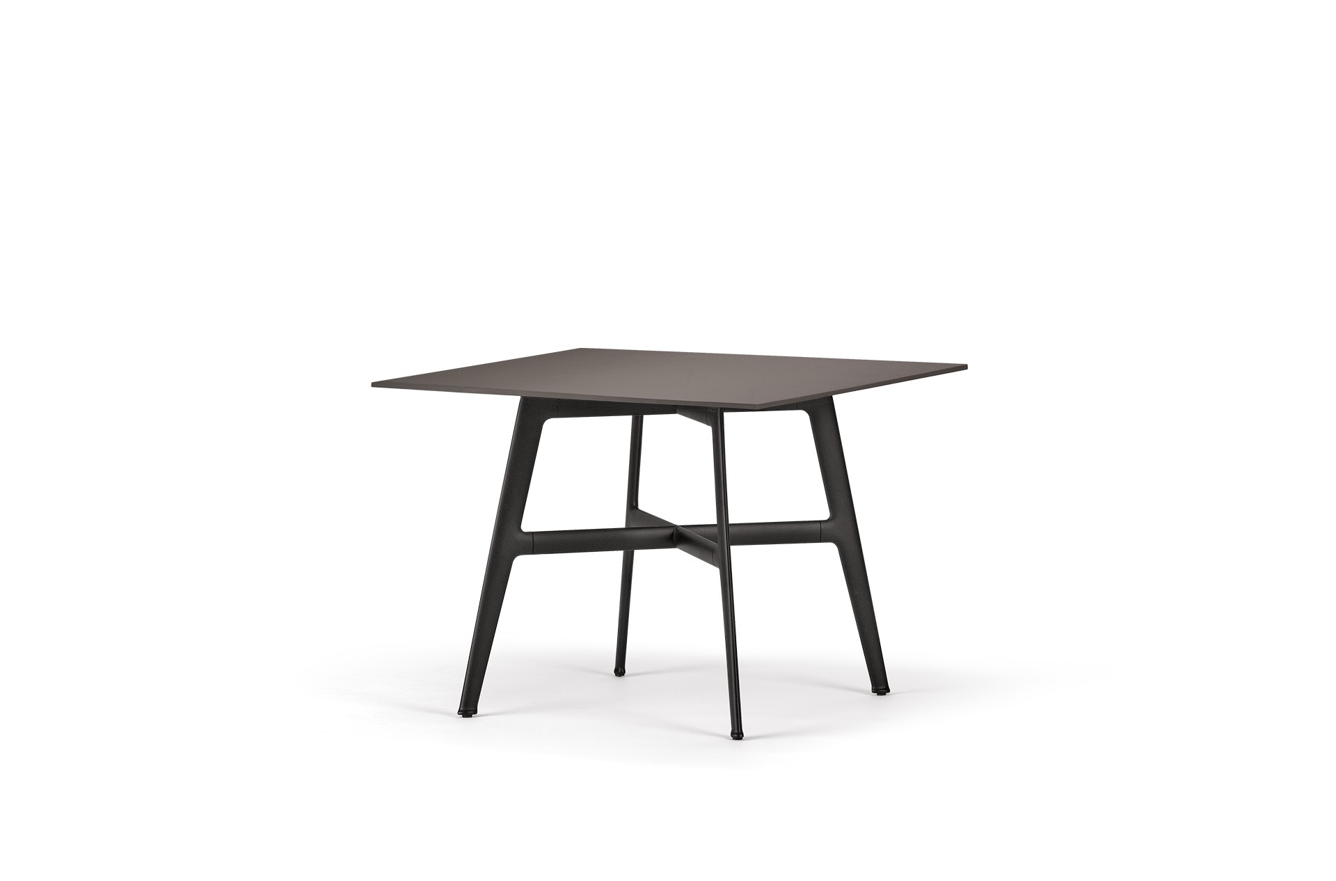 Dedon Seax Diningtable 100x100cm Ebony