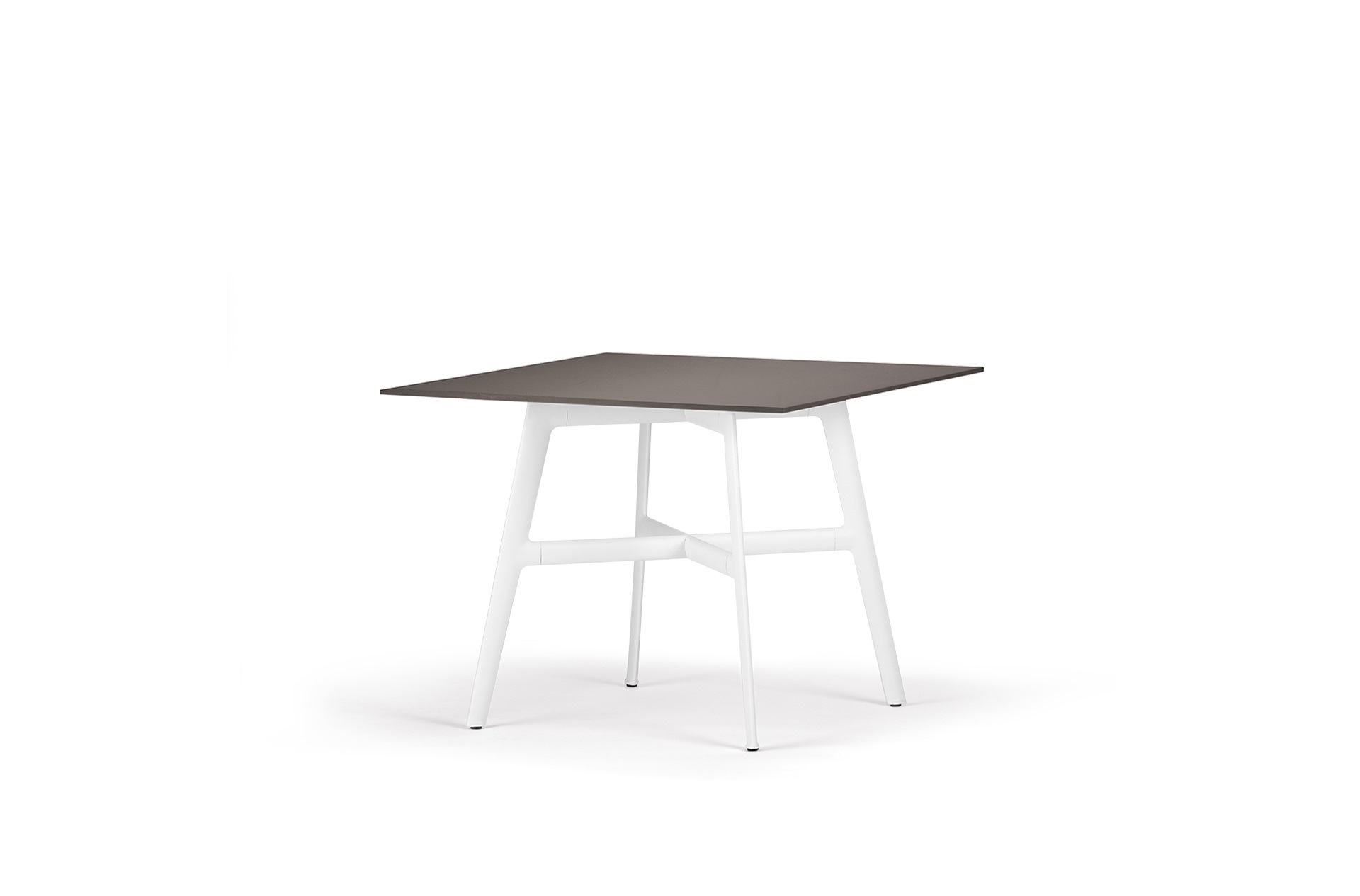 Dedon Seax Diningtable 100x100cm Ebony White