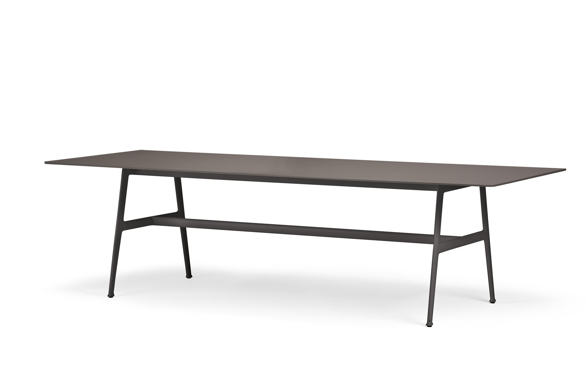 Dedon Seax Diningtable 100x280cm Ebony