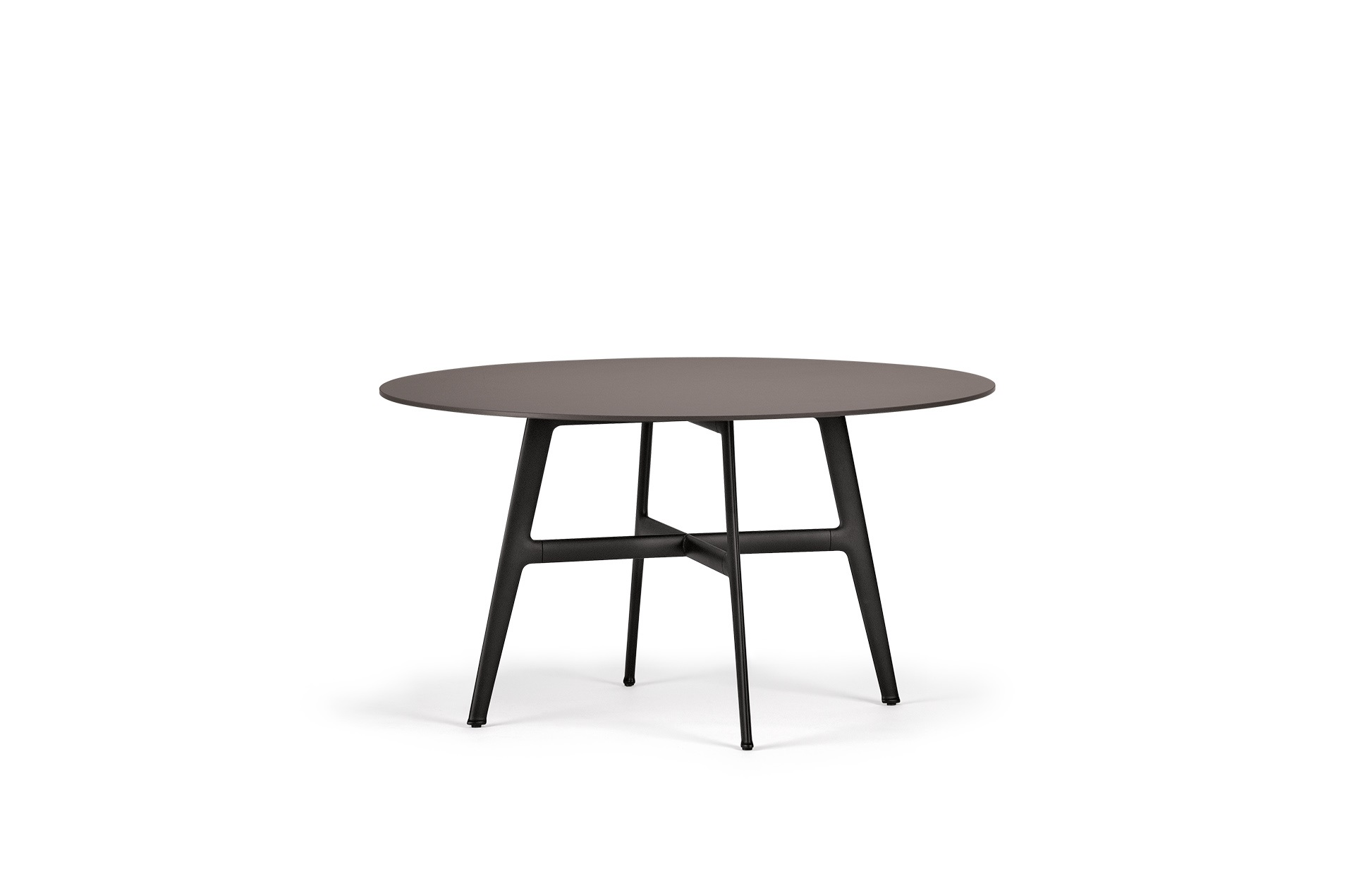 Dedon Seax Diningtable 140x140cm Ebony