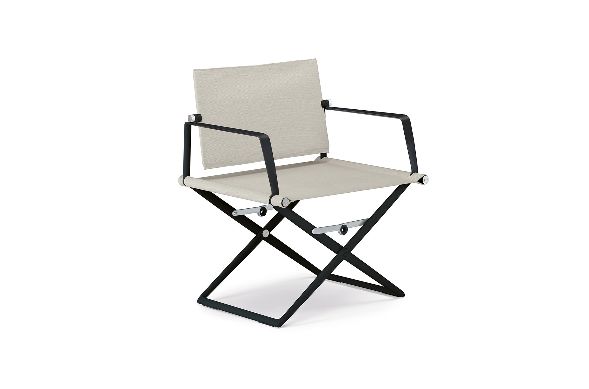 Dedon Seax Loungechair Black Sail Dove Black