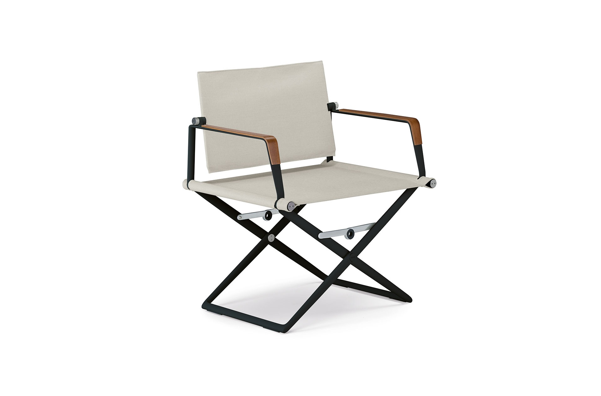 Dedon Seax Loungechair Black Sail Dove