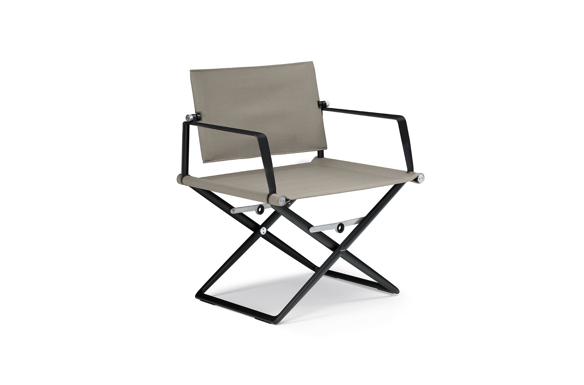 Dedon Seax Loungechair Black Sail Taupe Black