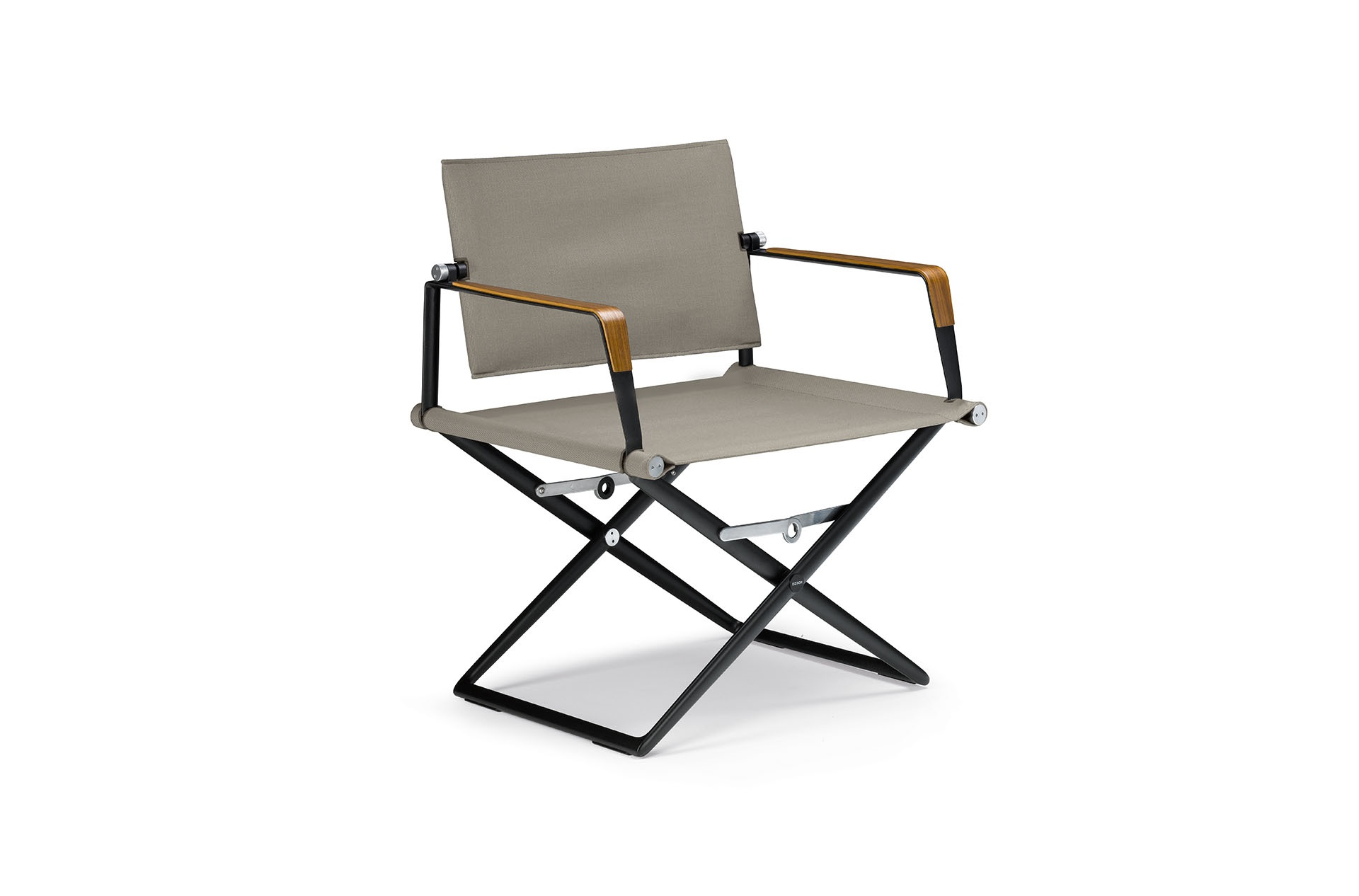 Dedon Seax Loungechair Black Sail Taupe