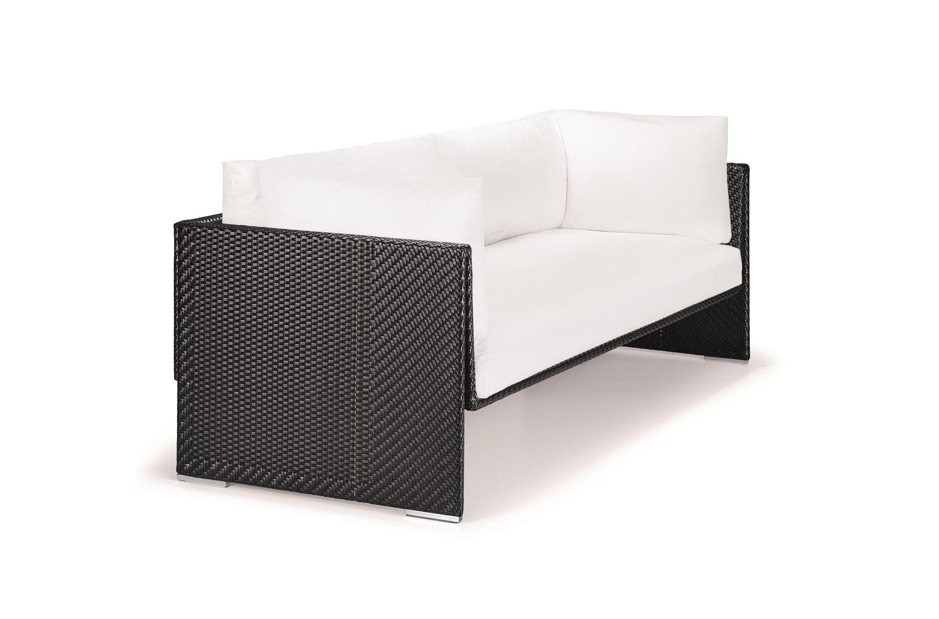 dedon slim line 3er sofa refil sofa. Black Bedroom Furniture Sets. Home Design Ideas