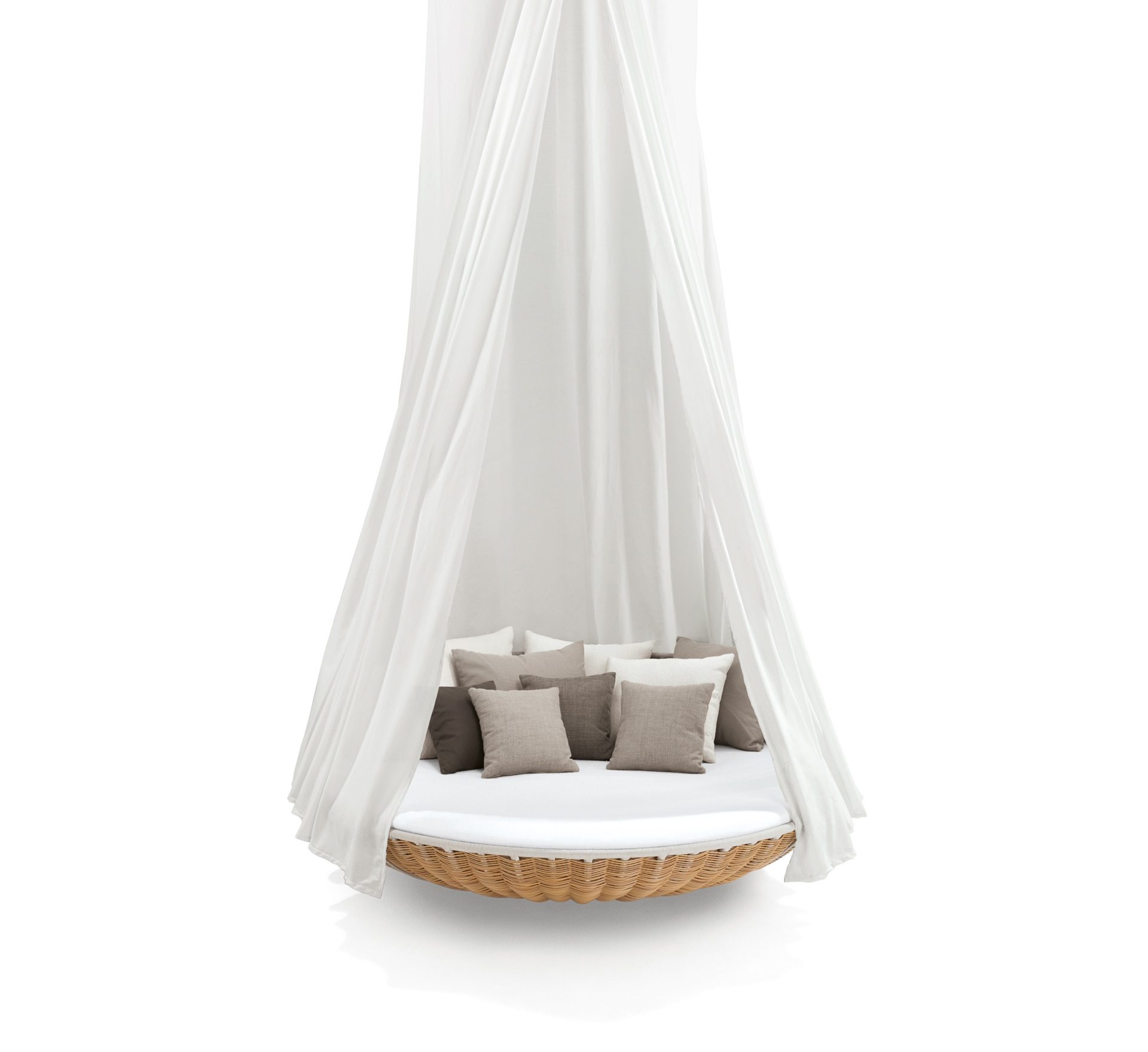 dedon swingrest hanginglounger canope natural