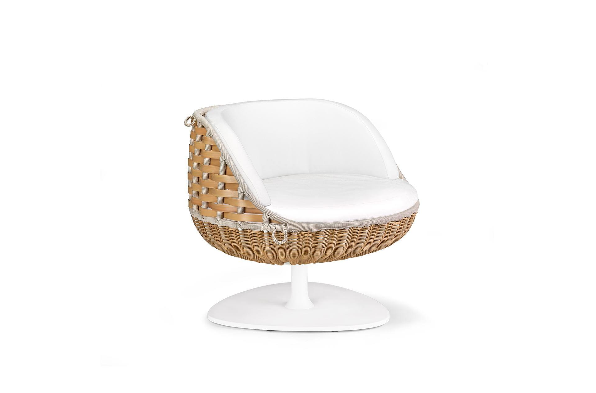 Exceptional Dedon Swingrest Loungechair Natural ...