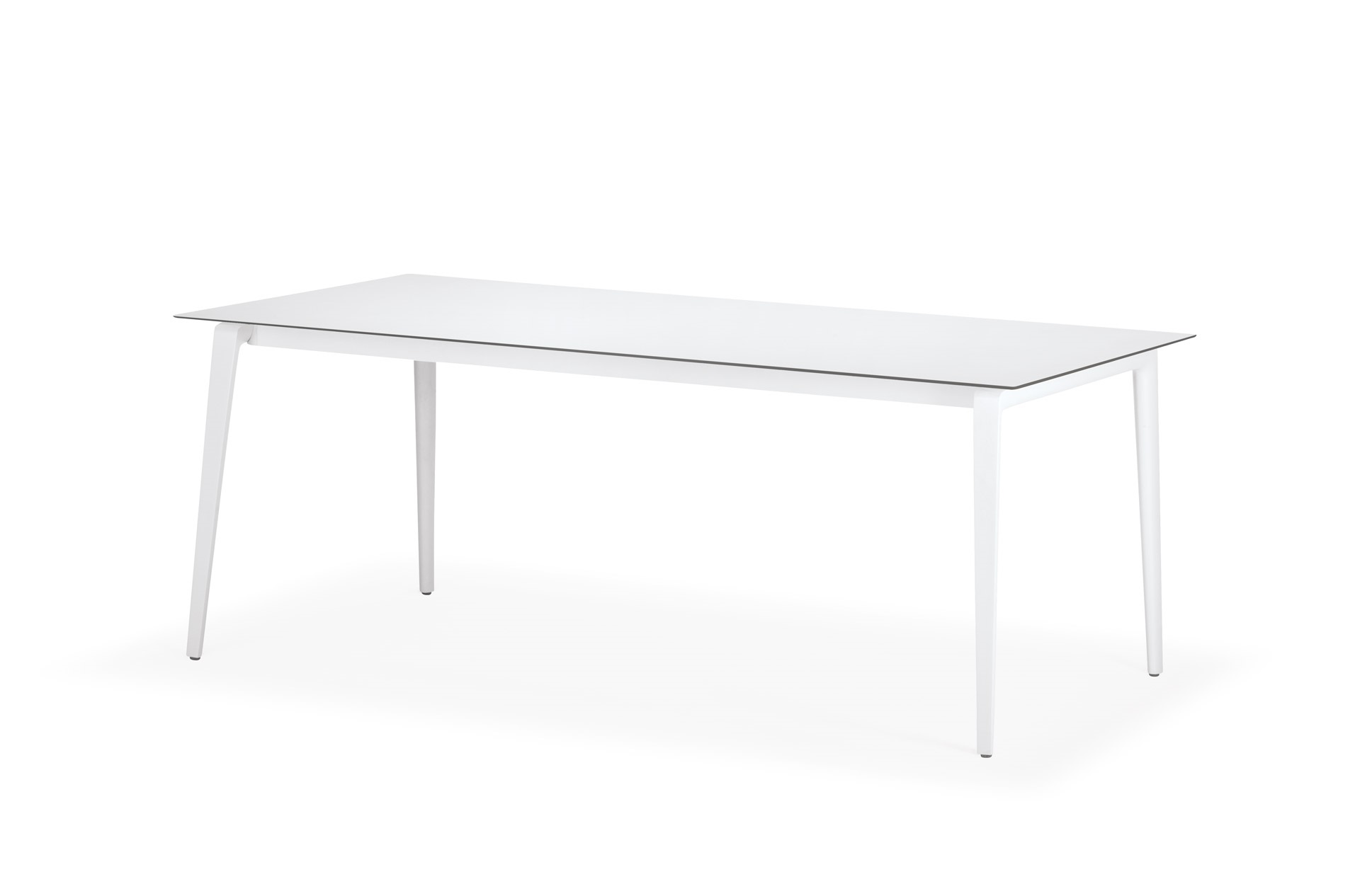 Dedon WA Dining Table 100x200 HPL white